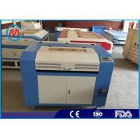 Textile Cloth Tabletop Laser Engraving Machine With Sealed Co2 Laser Tube