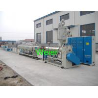 63mm diameter of PPR Plastic Pipe Extrusion  line For Glass Fiber Pipe