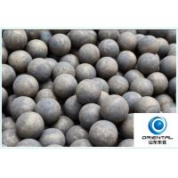 Wholesale High Hardness Forged Grinding Ball DIA 20-150MM Low Broken Rate from china suppliers