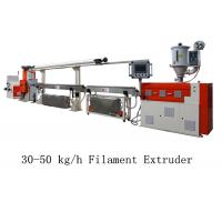 Quality 30 - 50 kg/h 3D Printer Filament Extruder Line Single Screw Making Machine for sale