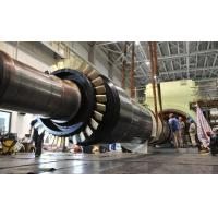 Wholesale 30Cr1Mo1V Generator Steam Turbine Wheel Rotor Forging 15Mw With Siemens from china suppliers