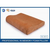 Ventilated Sleep Design Memory Foam Contour Pillow With Washable Pillowcase