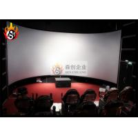 Wholesale Good Experience 3D Cinema Systems with Large Arc Silver Screen from china suppliers