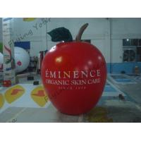 Buy cheap 6ft High Apple Fruit Shaped Balloons For Exhibition Display , Inflatable Hanging Balloon from wholesalers