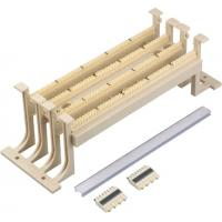 Cat5E 110 Punch Down Block Wiring Block Wall Mount With Legs , Ivory Color YH7035
