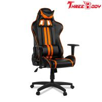 Modern Style Racing Seat Computer Chair , Office Leather Swivel Gaming Chair