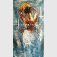 Handmade Nude Lady Oil Painting Abstract Human Figure Paintings For Living Room