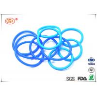 Quality Coloured Silicone O Rings Food Grade Sunlight Resistant Standard / Nonstandard for sale