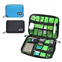 Wholesale Digital Cable Organizer Travel Storage Bags Size  Customized With Zipper from china suppliers