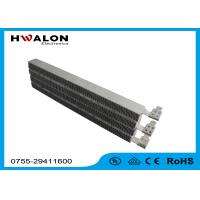 Special Lead PTC Air Heater Heating Element With Ripple 220V , Aluminum Material