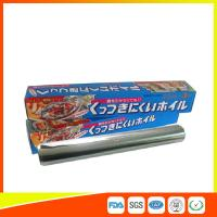 OEM Kitchen Aluminium Foil Roll Food Grade For Cooking / Freezing