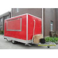 Wholesale Sliding Glass Window Mobile Food Trailers For Hamburger And Fryer Business from china suppliers