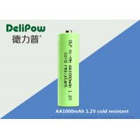 1000mah Aa 1.2 V Rechargeable Batteries With UL / CE / ROHS / ISO