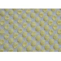 Quality Flexible Bubble Flexible Stretchy Lace Fabric , Nylon / Spandex And Cotton for sale