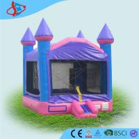 Wholesale Lovely purple birthday party bounce house / inflatable air castle for kids from china suppliers
