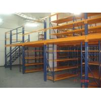 Wholesale Removable Attic Mezzanine Racking System Cold Roll Steel Without Any Nuts / Bolts / Tools from china suppliers