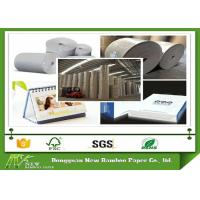 Wholesale 370g / 0.57 mm Grade AA laminated Grey Card board roll for printing from china suppliers