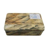 Wholesale Sliding Lid Rectangular Tin Box Custom Rectangular Metal Tins For Candy Packaging from china suppliers