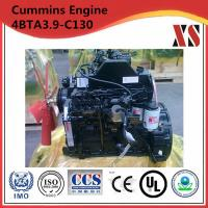 Cummins diesel engine for stationary pump 4BTA3.9-C130