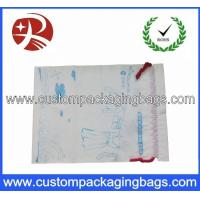 Wholesale Duty Free Drawstring Plastic Bags Waterproof With Gusset For Cloth from china suppliers