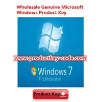 Wholesale Original Windows 7 Product Key Codes, Microsoft Windows 7 Professional OEM Online Activate Key from china suppliers