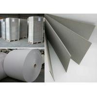 Quality Recycled Material Hard Stiff 1000gsm Grey Paper board in Sheet or Reel for sale