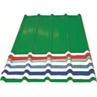 Quality Corrugated Metal Roofing Sheets , Recyclable Steel Sheets For Roofing for sale