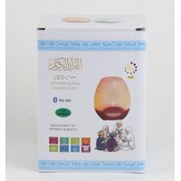 Factory supply Wireless Audio led quran speaker with Bluetooth LED Colorful Lamp , French language,