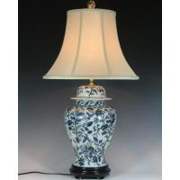 Wholesale BLUE AND WHITE PORCELAIN LAMP Item#: LPQH-015 from china suppliers