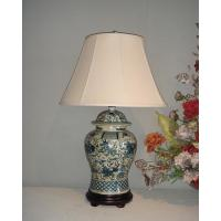 Wholesale BLUE AND WHITE PORCELAIN LAMP Item#: LPQH-068 from china suppliers