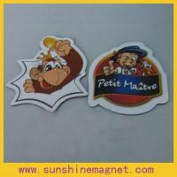 Wholesale Custom fridge magnet with offset paper surface from china suppliers