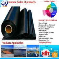 Quality AS Fish Farm Low Price Pond Liner Reinforced Water Tank Hdpe Geomembrane for sale