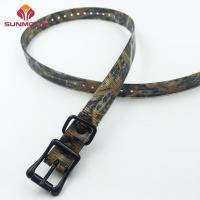 Quality Army green waterproof TPU dog collar manufacturer for sale