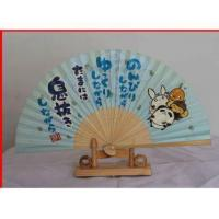 Wholesale Printing Paper Bamboo Fan Japanese Paper Fan Wedding Hnad Fan from china suppliers
