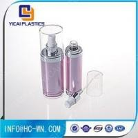 Quality Ungrouped Oval Plastic Refillable Acrylic Cosmetic Lotion Pump Bottle for sale
