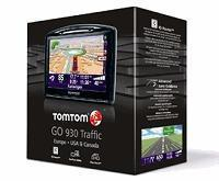 Quality TomTom GO 930T Portable GPS Navigator with Maps of US, Canada and Europe with Traffic for sale