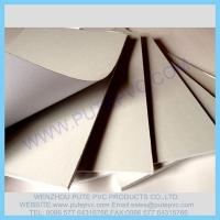 Quality PT-GP-004 Self-adhesive PVC sheet for album, photo book, memory book, menu inner pages for sale
