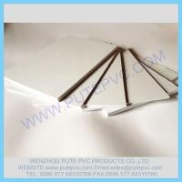 Quality PT-GP-006 gummed Self-adhesive PVC sheet for album, photo book, memory book, menu inner pages for sale