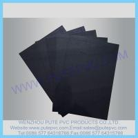 PT-SP-002 Single Piece Self-adhesive PVC sheet for album, photo book, memory book, menu inner pages