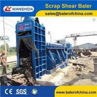 Quality WANSHIDA Hydraulic Scrap Metal Shear Baler for Waste Car Bodies Light Scrap Metal Copper Steel for sale