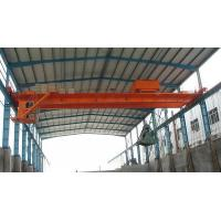 QZ Type Double Girder Electric Grab Bucket Bridge Crane to Lift Scrap
