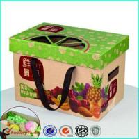 Wholesale Corrugated Cardboard Fruit Caron Boxes Packing from china suppliers