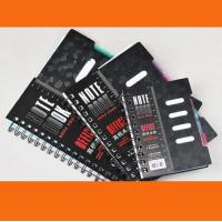 Quality A4 / A5 / A6 Custom Notebook with elastic band & ribbon for sale
