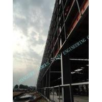 Quality Grade A572 / A36 90 X110 ASTM Industrial Steel Buildings Concrete Plants for sale