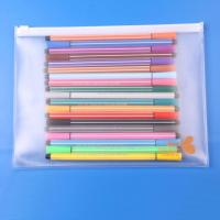Wholesale Waterproof Bag Printing PVC Custom Document Plastic Bags with Slide Zipper Lock from china suppliers