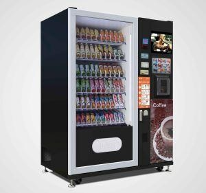 Lv X01 Combination Vending Machine With Gprs And Credit