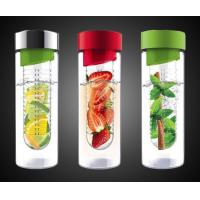 Wholesale Sport Water Bottle with Fruit Infuser for Naturally Flavored Water from china suppliers