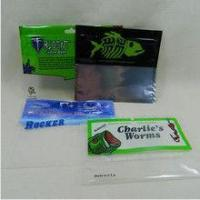 Glossy Finish Fishing Lure Pouches Foil Ziplock Bags Environmental Protection