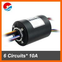 Wholesale Through hole slip ring assembly 12.7mm hole size 6circuits each 10A and 12 circuits signal from china suppliers