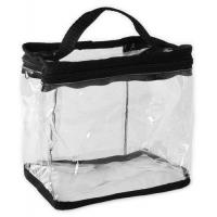 Quality Transparent Travel Toiletry Bag Clear PVC Cosmetics and Toiletries Organizer Bag for Men and Women for sale
